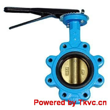 Operated Lugged Butterfly Valve